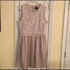 Gabby Style taupe dress